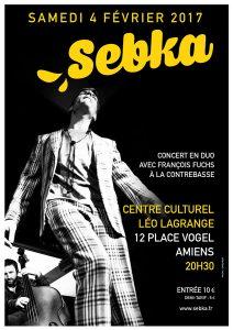 SEBKA en CONCERT à AMIENS (80) @ Centre Culturel léo Lagrange   Amiens   Nord-Pas-de-Calais Picardie   France