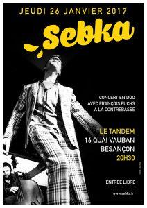 SEBKA en CONCERT à BESANÇON (25) @ Le Tandem   Besançon   Bourgogne Franche-Comté   France