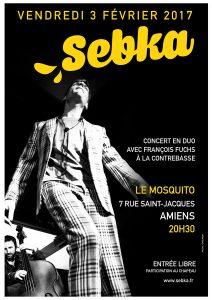 SEBKA en CONCERT à AMIENS (80) @ Le Mosquito   Amiens   Nord-Pas-de-Calais Picardie   France